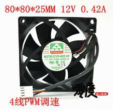 New original MAGIC MGT4012UB-W28 12V 0.55A 40x40x28mm 4028 4-wire cooling fan