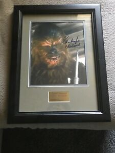 Signed-PETER-MAYHEW-Autograph-Frame
