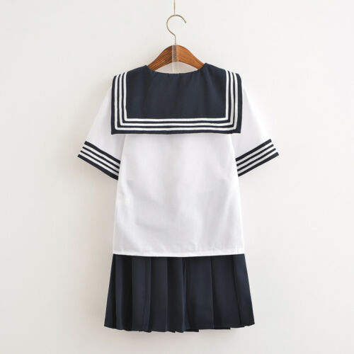 Aisaka Taiga Japanese JK School Sailor Uniform Cosplay Costume Shirt Skirt Set