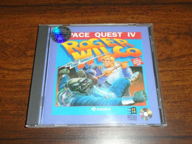 IV Classic Sierra Vintage Video Game PC Poster 4 x Lot Space Quest I