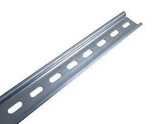 1m-Hutschiene-Automatenschiene-Montageschiene-Tragschiene-35x7-5-gelocht