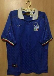 ITALY NATIONAL TEAM 1995/1996 HOME FOOTBALL SHIRT JERSEY MAGLIA NIKE
