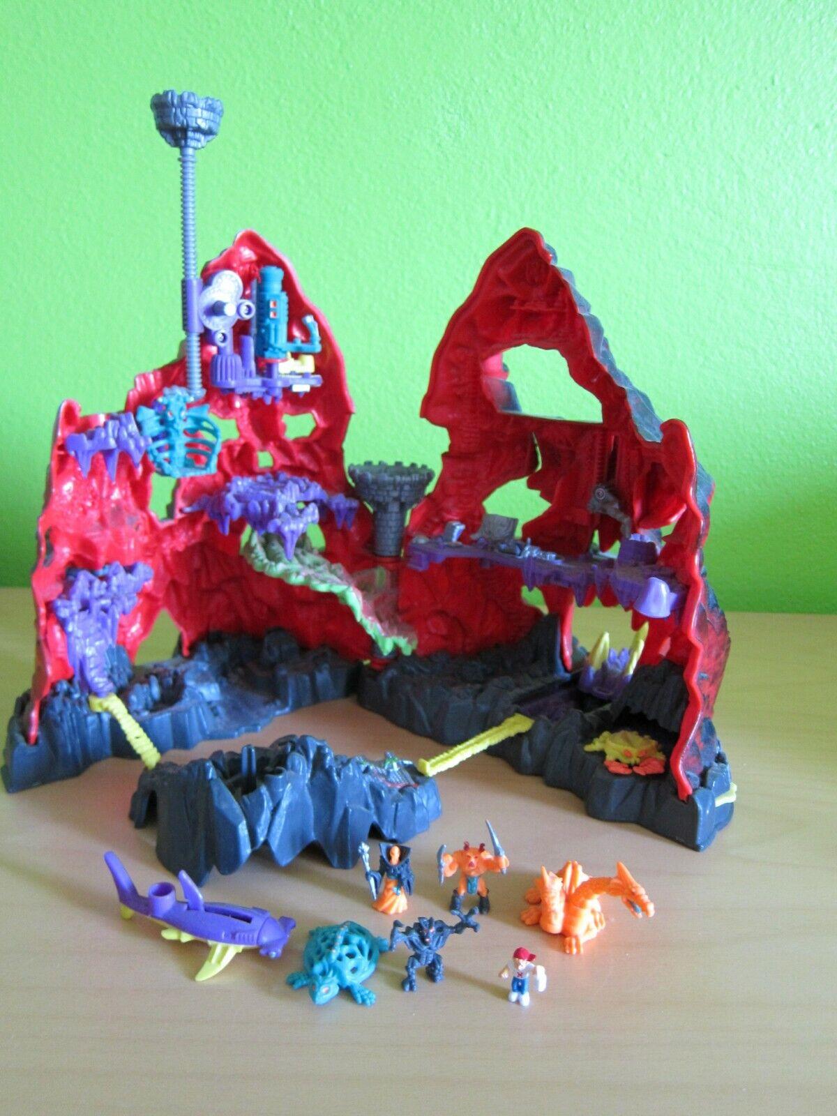 Mighty Max big ones Skull Mountain juego lata mini basurillas etc. Polly Pocket