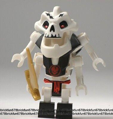 LEGO NINJAGO minifig Samukai w// weapons 2507 2505 Rare