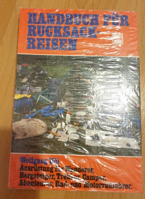 Handbuch für Rucksackreisen Wanderer Bergsteiger Trekker Camper Motorradfahrer