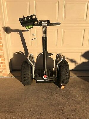Segway X2 Off Road with Golf Turf Tires and Score Card