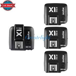 US-Godox-TTL-X1T-S-Flash-Trigger-Transmitter-X1R-S-Receivers-for-Sony-Camera