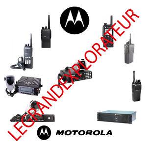 ultimate motorola radio ham cb operation repair service manual 390 rh ebay com Motorola Radios Xbox Controller Manual