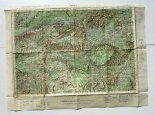 Carte de France au 50.000e - CUERS -Service géographique de l'Armée -Type 1922
