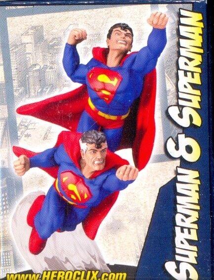WIZKIDS HEROCLIX PROMOTIONAL FIGURE CONVENTION D-004 SUPERMAN SUPERMAN SUPERMAN & SUPERMAN 1e2ff3
