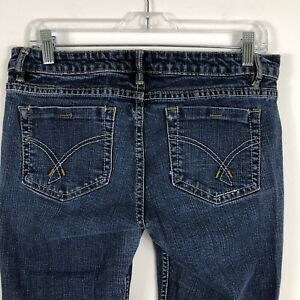 Forever 21 Pantalones Vaqueros Para Mujer Talla 30 Mediados De Subida De Pierna Recta Lavado Mediano Se Desvanecio Ebay