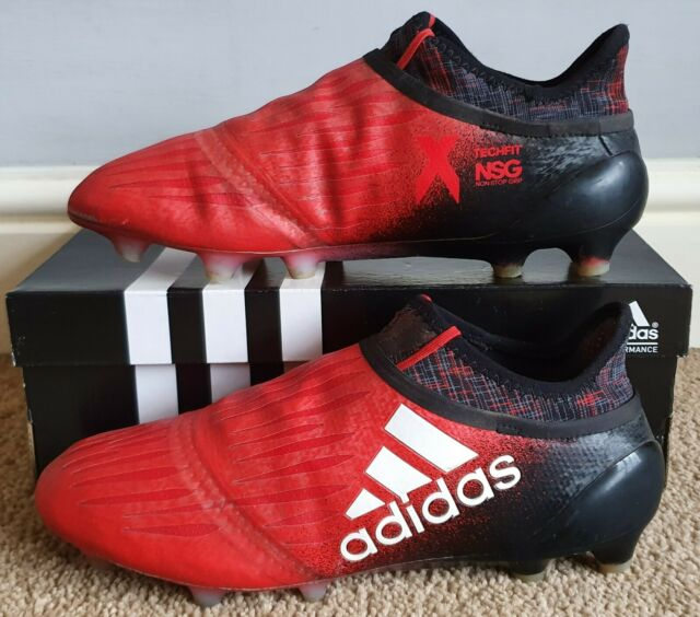 rural diseño Permanente  adidas Messi 16 Pureagility FG White Black Red 40 for sale | eBay