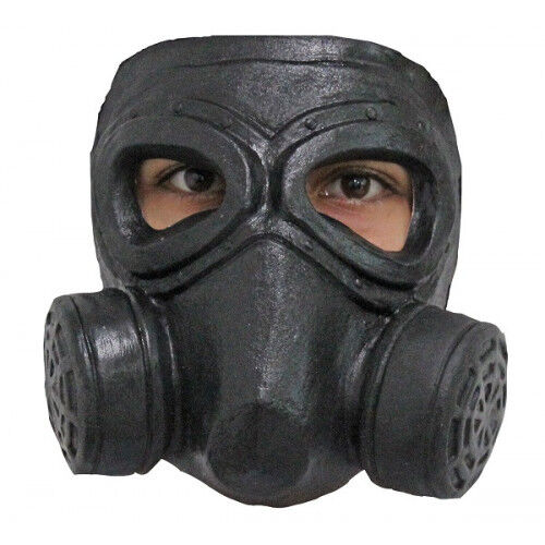 Steampunk Gas Mask Double Face Mask Latex Mask Fancy Dress Halloween Adult