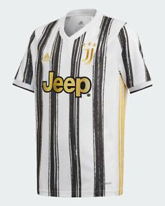 Juventus Fc Adidas Maglia Calcio Football Shirt Bambino 2019 20 Home