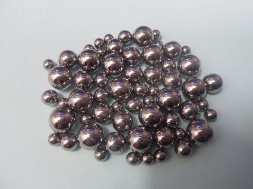 Ball Bearings, Stainless Steel, 2mm-12mm.