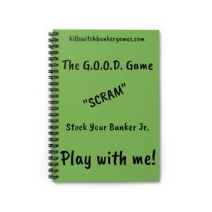 Kill Switch Bunker Games Spiral Notebook - Ruled Line