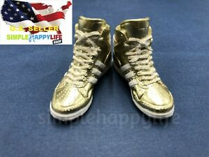 1-6-female-fashion-sneakers-shoes-GOLD-for-12-034-figure-phicen-hot-toys-USA