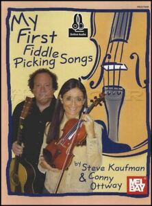 Mon Premier Violon Picking Songs Sheet Music Book With Audio Steve Kaufman Répertoire-afficher Le Titre D'origine Facile à RéParer