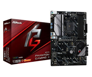 Asrock Phantom Gaming 4 AM4 AMD X570 ATX DDR4-SDRAM Motherboard