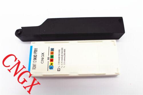 1P SRAPR2020K12Face milling External Lathe blade Holder 10P RDMT1204MO P7011