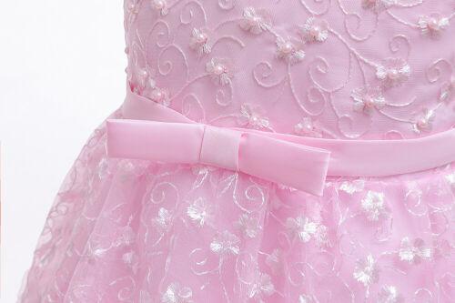 Baby Kid Party Dress Birthday Princess Flower Girls Wedding Bridesmaid Christmas