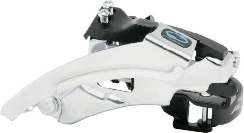 Shimano Altus M310 7//8-Speed Triple Top-Swing Dual-Pull Front Derailleur