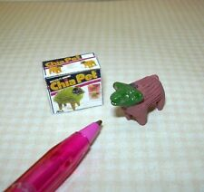 Miniature Sheep Chia Pet with Box for DOLLHOUSE Miniatures 1/12 Scale (not real)