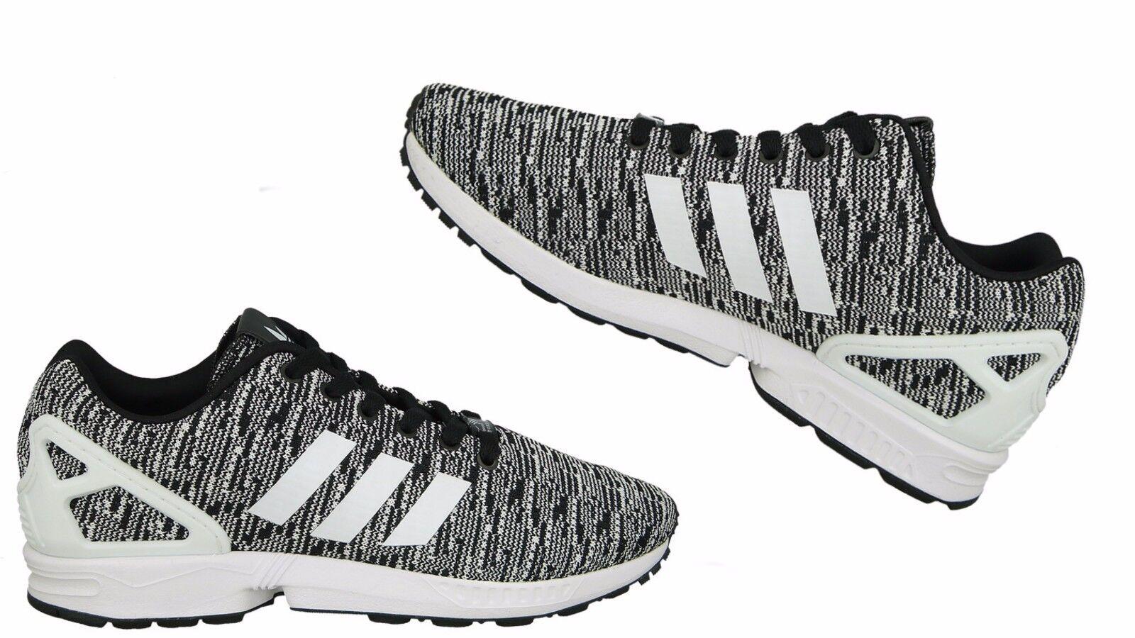 Para Hombre Adidas Originals Core ZX Flux Core Originals BB2166 Negro/Blanco f9d773