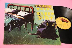 Frank-Zappa-LP-Sleep-Dirt-Orig-Italian-1979-EX