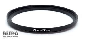 72mm-to-77mm-72-77mm-Step-Up-Stepping-Ring-Filter-Adapter-UK-Stock