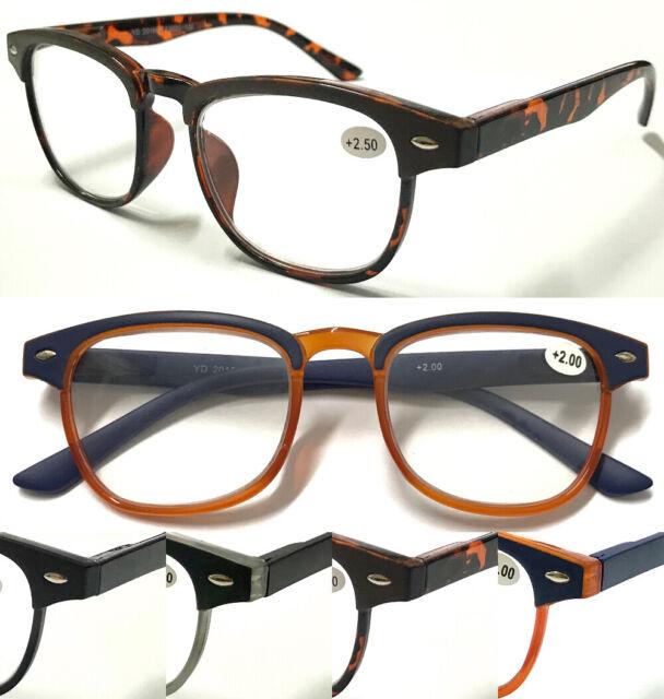 a3beb0e5ec1d EyeKepper 5-pack Spring Hinges Vintage Reading Glasses Men Readers Black  Frame T for sale online   eBay