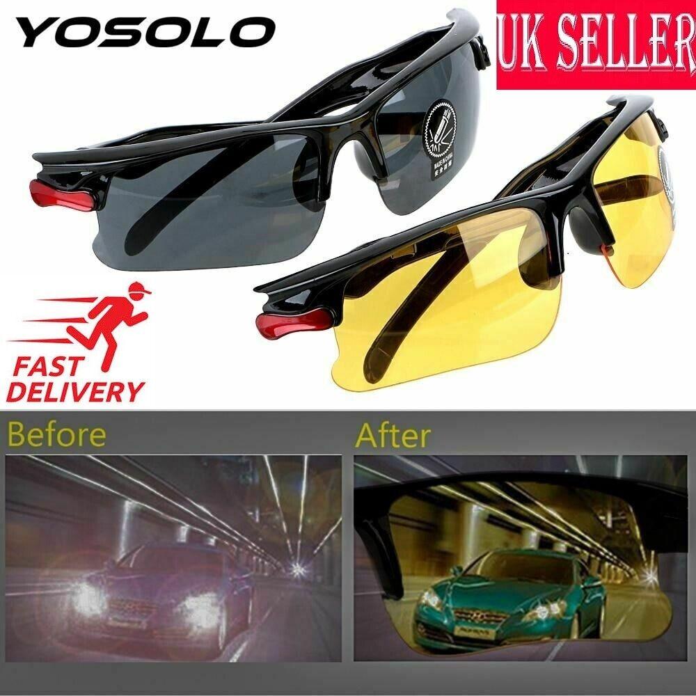 [ NT] Yosolo Auto Night-Vision Brille Fahrer Brille Anti Blendung Schutz Gears