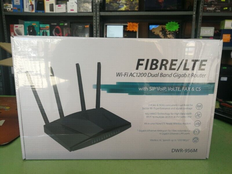 Dual Band 4G/LTE Routers (Work on Rain Network!)