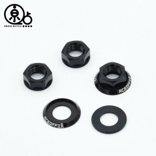 Lightweight Aluminum alloy Rear Wheels Locked Screw Nuts for  Brompton Bicycle