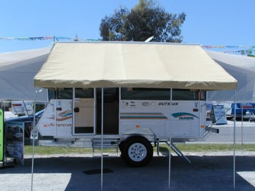 14/' White Bag Awning Made For A 14/' Pop Up Camper