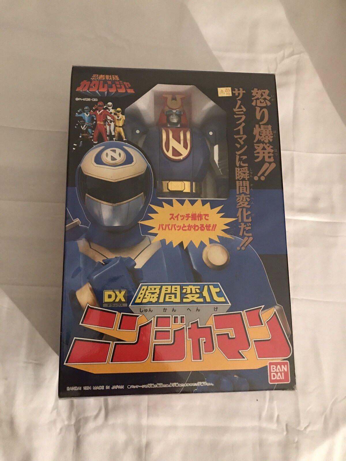 mas barato Super Sentai Kakuranger DX NinjamanPower Rangers Ninjor Japón Deluxe Deluxe Deluxe 2018  grandes ahorros