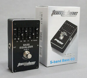 aeb 1 electric bass 5 band eq equalizer guitar effect pedal exclusive true bypas ebay. Black Bedroom Furniture Sets. Home Design Ideas