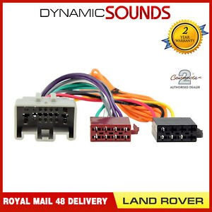 Outstanding Ct20Lr04 Stereo Radio Iso Wiring Harness Adaptor For Land Rover Wiring Digital Resources Sapebecompassionincorg