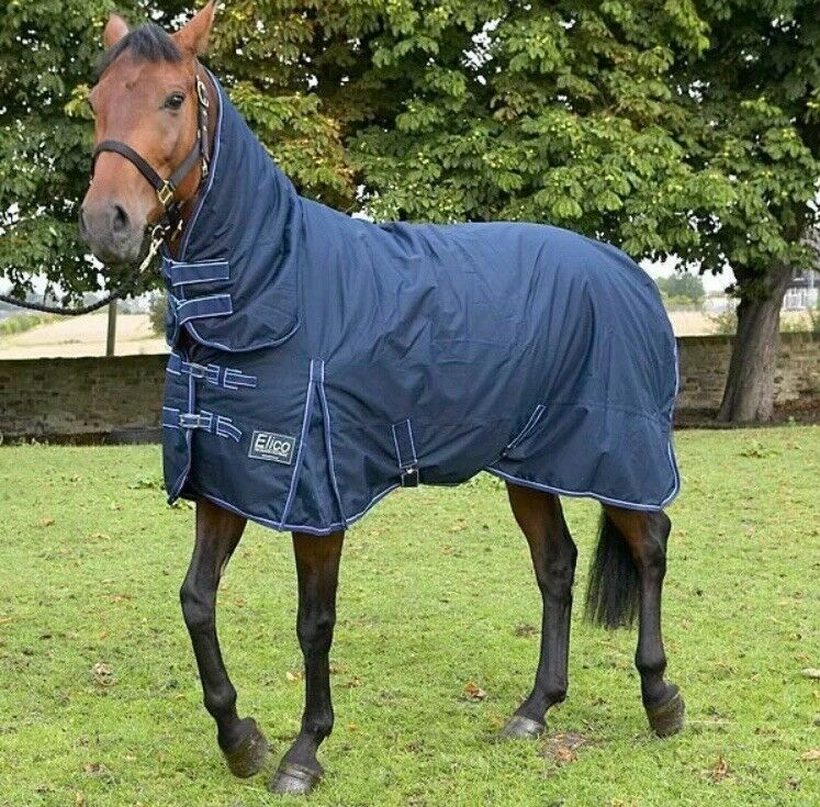 "ELICO PENNINE COMBO MEDIUMWEIGHT RUG - NAVY blueE 6'3"" - NEW UNUSED"