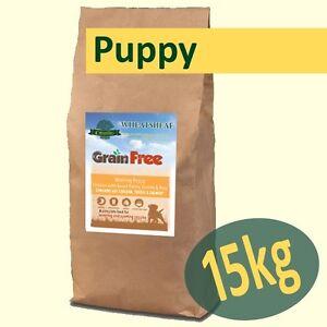 15kg * grain Free * Chiot Dod Food Travailler Poulet, Patate Douce, Carottes & Pois