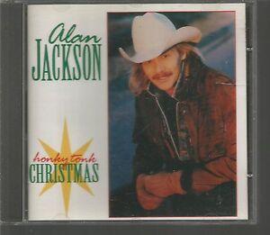 image is loading honky tonk christmas alan jackson cd 1998 arista - Alan Jackson Honky Tonk Christmas