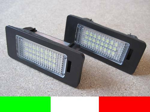 2 LUCI TARGA LED KIT COMPLETO VW PASSAT B6 3C R36 G1E1