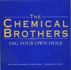 The-Chemical-Brothers-DIG-YOUR-OWN-HOLE-Spanish-Promo-CD-Very-RARE