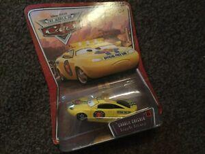 Disney-Pixar-Cars-Charlie-Checker-Piston-Cup-Pace-Car-Mattel-1-55-Scale-BNIB