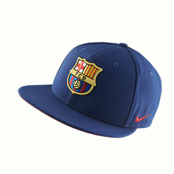 New Unisex Nike Mens Womens Snapback Dry-Fit Cap Hat Barcelona