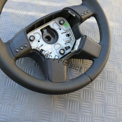 LENKRAD passend für Opel VECTRA C UND SIGNUM.Neubezogen.Leder GLATT und GELOCHT.