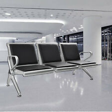Super 3 Seat Heavy Duty Salon Office Bench Bank Airport Reception Unemploymentrelief Wooden Chair Designs For Living Room Unemploymentrelieforg