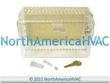 Honeywell Mars Thermostat Guard Clear Case Lock & Key TG500A1003 70210