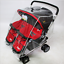 Universal Clear Stroller Rain Cover Double Pushchair Pram Baby Infant Twin