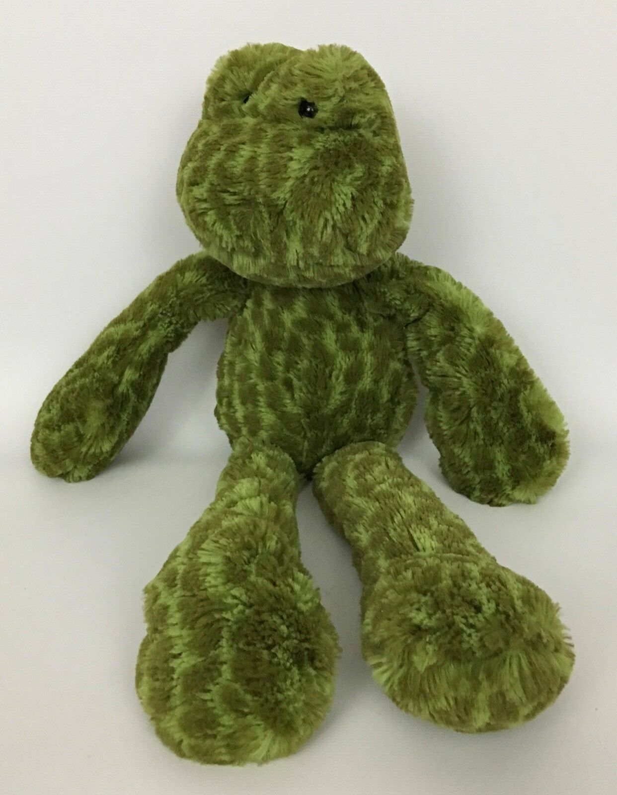 Jellycat Merryday Frog Grün Spotted Stuffed Animal Plush READ